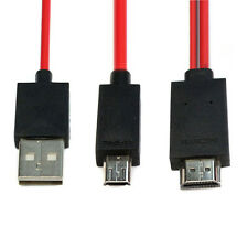 2M Micro USB to HDMI MHL Kabel Adapter Full HD 1080P For Samsung GALAXY S4 S3