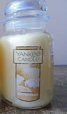 Yankee Candle  Buttercream  22 oz.1 SINGLE   NEW Candle Free Ship