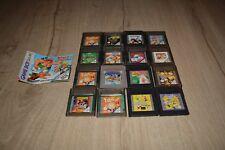 lot 14 JEUX GAME BOY COLOR (super marioland, Astérix, Tom et Jerry, Titeuf...