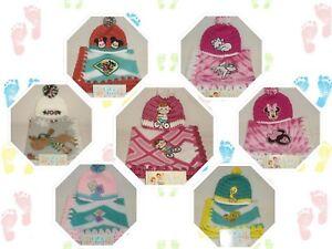 Preemie & Twins Girls 2pc Handmade Fleece & Crochet Blanket Set #2