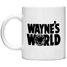 Waynes World Garth Movie Memorabilia Film Party On Novelty Tea Coffee Mug Cup