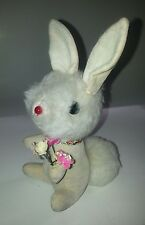 1968 I.S. Sutton & Sons Inc Bunny Rabbit with bouquet of Flowers