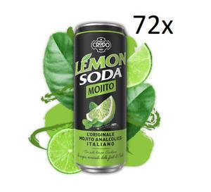 72 Dose MOJITOSODA 330 ml Campari Group Mojito Limette alkoholfrei italienisch