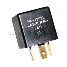 1x 6V LED Blinkrelais für OLDTIMER Blinker lastunabhängig 3-polig Blinkgeber NEU