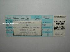 U2 Unused 1992 Concert Ticket FOXBORO STADIUM MASS Achtung Baby ZOO TV Bono RARE