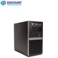 Fast Core i7 Desktop Computer Tower Windows 10 PC Quad Core CPU 3.4GHz 8GB 500GB