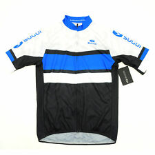 Sugoi Evolution Cycling Short-Sleeve Jersey Black/White/Blue Small