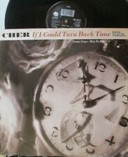 "CHER ~ If I Could Turn Back Time ~ 12"" Single PS"