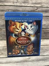 The Aristocats (Blu-ray/DVD, 2012, 2-Disc Set, Special Edition) Disney Jazz Cats