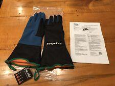 Waterproof Cryo-Gloves 15'' Cryogenic Liquid Nitrogen Size 10XL 1 Pair PORELLE
