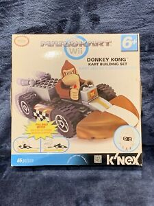 K'NEX Mario Kart Wii Donkey Kong Standard Kart Set #38045 Nintendo NEW Sealed