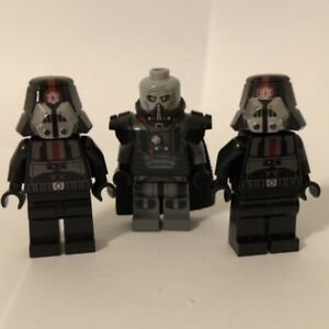 lego darth malgus and 2X sith troopers 9500 used