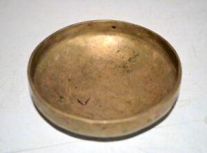 Massage Bowl Baby Hot Oil Vintage Rare Bronze Hand Carved oil Massage Bowl