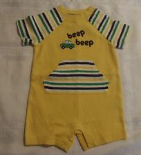Gymboree Auto Baby Preemie 5-9 Lbs  Yellow Outfit NWT