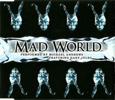Michael Andrews Featuring Gary Jules ‎Maxi CD Mad World - Vol.1 - England