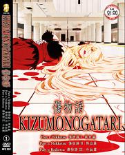 DVD ANIME Kizumonogatari (3 Movie) English Subs All Region + FREE DVD