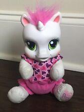 "Hasbro My Little Pony Sweetie Belle So Soft Newborn Talking Plush 9"" 2008"
