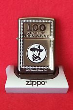 Zippo Lighter    100 Years of JOHN WAYNE  298/5000