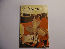 Braque, Jacques Damase, PB 1963 (Georges Braque, French Painter)