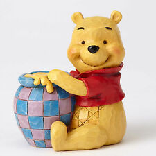 Jim Shore Disney Traditions Mini Miniature Pooh with Honey 4054289 NEW NIB