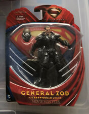 """DC Comics Superman Man of Steel GENERAL ZOD Action Figure Movie Masters 6"""" NEW"""