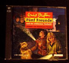 """Enid Blyton """"Fünf Freunde und ein schlimmer Verdacht"""" Hörbuch 2 CDs"""