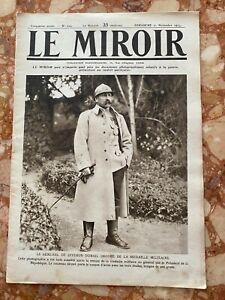 Militaria Journal LE MIROIR n°104 du 21-11-1915 (envoi monde gratuit)