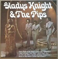 GLADYS KNIGHT & THE PIPS   ORIGINAL 1974  vinyl  LP   UK HALLMARK label    EX/EX