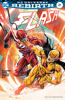 FLASH #27 HOWARD PORTER VARIANT REVERSE FLASH DC COMICS RUNNING SCARED PART 3