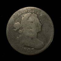 1803 DRAPED BUST 1C LARGE CENT ** FULL DATE, EARLY AMERICAN COPPER! Lot#X257