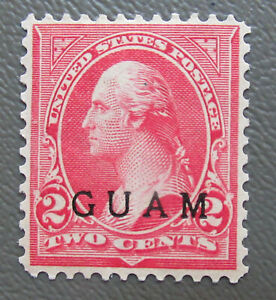 US 1899 Guam 2¢ Stamp 2a Stamps. MNG CV $30