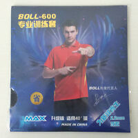 2Pcs BOLL-600 Ping Pong Rubber Table Tennis Ping Pong Rubber with Sponge Glues