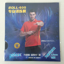 2Pcs BOLL-600 Ping Pong Rubber Table Tennis Ping Pong Rubber with Sponge