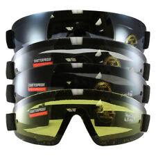 ddafa57ad7 Birdz Wing Face Hugging Riding or Sky Diving Goggles with 4 Sets of Goggles