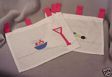 Valance-White+Primary Colors/Boat-Truck-Car-Signs-42x17