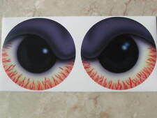 High Quality NEW SHOTGUN AIR CLEANER SCOOP VINYL STICKER EYES GLOSSY DECAL  LQQK
