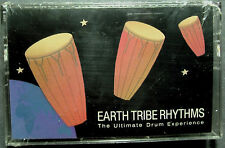 Brent Lewis: Earth Tribe Rhythms:  Ultimate Drum Experience (Cassette, 1990) NEW