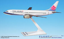 Flight Miniatures China Airlines Boeing 737-800 1:200 Scale Display Model