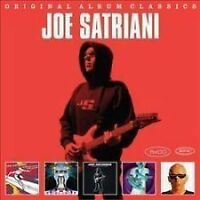JOE SATRIANI 5CD NEW Surfing Alien/Engines Of Creation/Strange/Love Space/Super