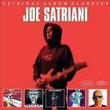 JOE SATRIANI 5CD NEW Surfing Alien/Engines Of Creation/Strange/Love Space/Super