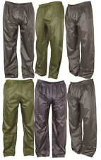 New Waterproof Lightweight pack away Trousers - Outdoors 3 colours all sizes