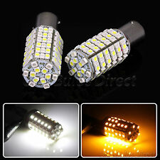 1157 Dual Color Switchback White/Amber LED Turn Signal Corner Light Bulbs 2L