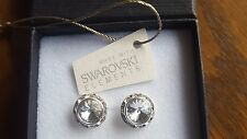 Swarovski Elements 13mm Clear Crystal Stud Earrings