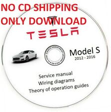 Tesla Model S 2012-2016 Service Manual and Wiring Diagram