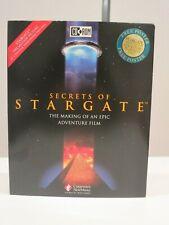 Secrets of StarGate Compton's New Media Cd-Rom 1994 deluxe box release