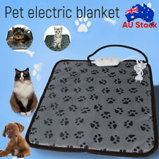 Large Pet Electric Heat Mat AU Plug Warmer Pad Blanket waterproof Dog Cushion