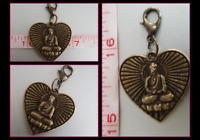 Details about  /925 Sterling Silver Buddha Charm  Pendant  S5277