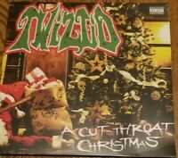 "Twiztid - A Cut Throat Christmas SEALED 12"" Vinyl Record insane clown posse icp"