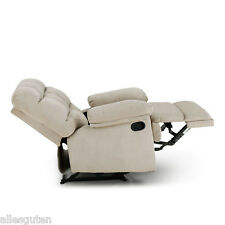 Recliner Sofa Chair Seat Living Room Lounge Furniture Faux Suede Reclining Home