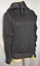 NEW NWT BENCH OVERHEAD HOODED HOODIE KNIT sweater top size S